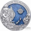 JAMES COOK DISCOVERY 250 Aniversario 3 Oz Moneda Plata 10$ Solomon Islands 2020