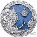 JAMES COOK DISCOVERY 250 Юбилей 3 Oz Монета Серебро 10$ Соломоновы Острова 2020