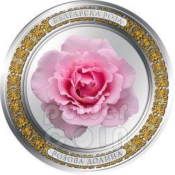 BULGARIAN ROSE 1oz Silver Proof Coin 2$ Niue 2010