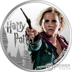 HERMIONE GRANGER Wizarding World 1 Oz Moneta Argento 10$ Fiji 2020