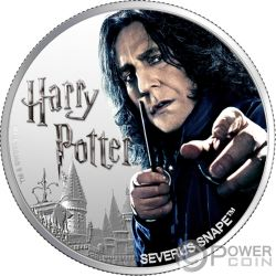 SEVERUS PITON Wizarding World 1 Oz Монета Серебро  10$ Фиджи 2020