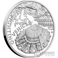 FIGHTING VEHICLE 500th Anniversary Leonardo Da Vinci 1 Oz Silver Coin 1$ Niue 2019