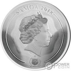 MASTERSIZE PANDA 35 Anniversario 1 Kg Kilo Moneta Argento 25$ Samoa 2018