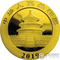 LUCKY CAT Gato Panda Colorized Moneda Plata 10 Yuan China 2018