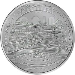 DRAGON Lunar Year 1 Oz Silver Proof Coin 20 Patacas Macau 2012