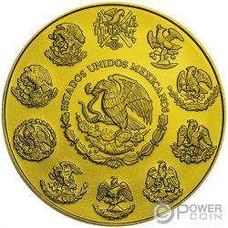 SANTA MUERTE Libertad 1 Oz Moneda Plata Mexico 2019