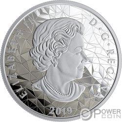 GRIZZLY BEAR Multifaced Animal Head 1 Oz Silver Coin 25$ Canada 2020