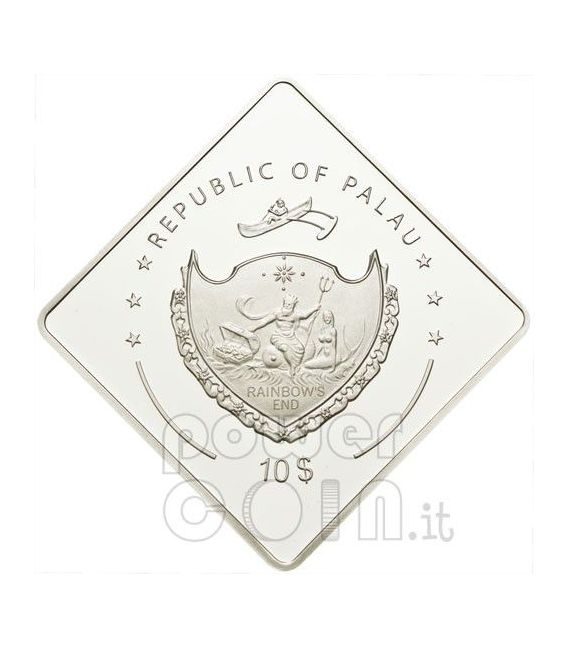 HMAS AUSTRALIA Battleship 2 Oz Silber Münze 10$ Palau 2011