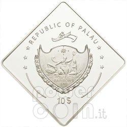 HMAS AUSTRALIA Battleship 2 Oz Серебро Монета 10$ Палау 2011