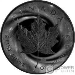 2011 5$ FINE SILVER .9999 1 oz ARGENT COIN QUEEN ELIZABETH II MAPLE LEAF CANADA