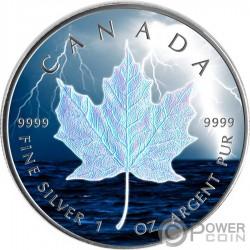 2019 $5 Canada Wildlife Maple Leaf BLUE JAY 1 Oz Silver Coin.