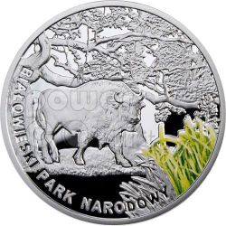 BIALOWIESKI NATIONAL PARK Biosphere Reserves Silver Coin Malawi 2010