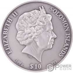 $10 Dollar 4-Layer St Paul/'s Cathedral London Samoa 100 Grams Silver 2017