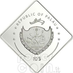 BISMARCK Nave Corazzata Moneta Argento 2 Oz 10$ Palau 2009