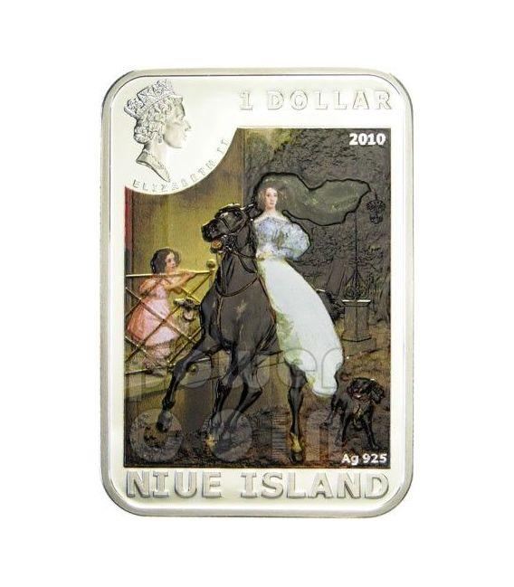 KARL BRULLOV World of Painting Moneta Argento 1$ Niue 2010
