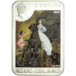 KARL BRULLOV World of Painting Silver Coin 1$ Niue 2010
