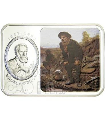 VASILY PEROV World of Painting Silver Coin 1$ Niue Island 2011