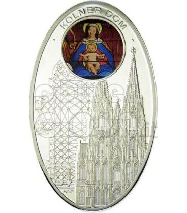 CATTEDRALI GOTICHE COLONIA Cattedrale Moneta Argento 1$ Niue Island 2010