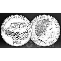 MINI 50 YEARS BU Coin Pack £5 Alderney UK Royal Mint 2009