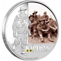 KAPYONG BATTAGLIE FAMOSE 1951 Moneta Argento 1$ Australia 2012