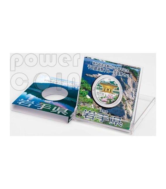 IWATE 47 Prefectures (18) Silber Proof Münze 1000 Yen Japan 2011