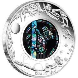 KOALA OPAL Australian Opals Series Silver Coin 1$ Australia 2012