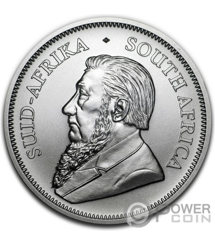 31.1 Silver Krugerrand Brilliant Uncirculated condition in the coin capsule 2018 South Africa 1oz