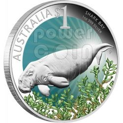 SHARK BAY Celebrate Australia Perth ANDA 1 Oz Silver Proof Coin 1$ 2012