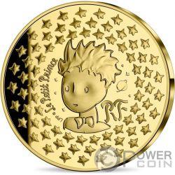 LITTLE PRINCE FOX Kleine Prinz 75 Jahrestag Gold Münze 50 ...