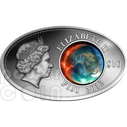 APOCALYPSE Maya Calendar Prophecy Silber Münze 10$ Fiji 2012