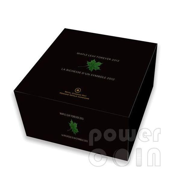 MAPLE LEAF FOREVER 1 Kg Kilo Foglia Acero Moneta Argento 250$ Canada 2012