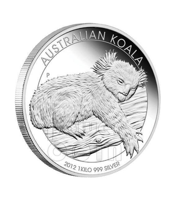 Australian Koala Silver Proof Coin 1 Kg Kilo 30 Australia