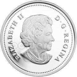 SUGAR RAINDROP Crystal Swarovski Silber Münze 20$ Canada 2012