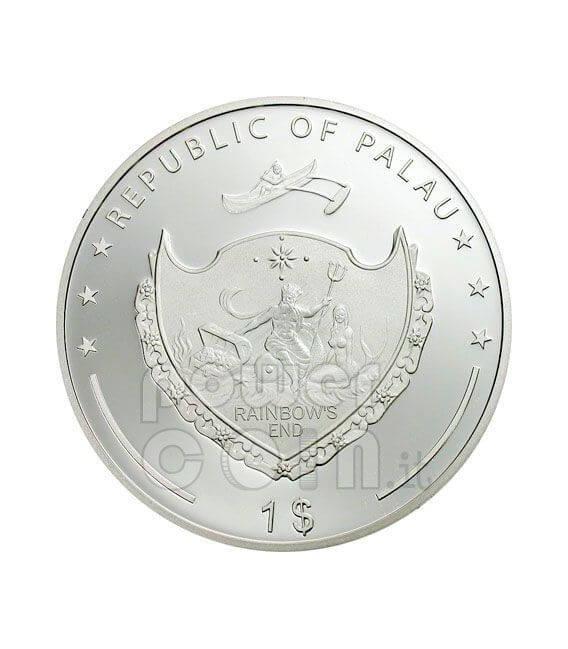 FERRARI F2007 60th Anniversary Coin 1$ Palau 2007