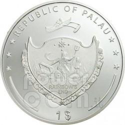 FERRARI F2007 60th Anniversary Moneda 1$ Palau 2007