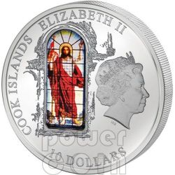 WINDOWS OF HEAVEN ST PETERSBURG Saint Isaac Cathedral Moneda Plata 10$ Cook Islands 2012