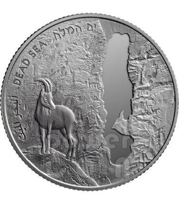 MAR MORTO 63 Anniversario Indipendenza Moneta Argento Proof 2 NIS Israele 2011