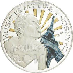 MUSIC IS MY LIFE CHANSON Münze 1$ Fiji 2012