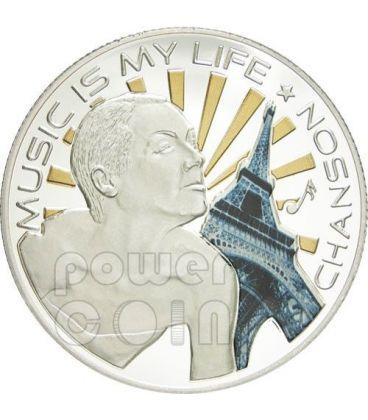 MUSIC IS MY LIFE CHANSON Musica Moneta 1$ Fiji 2012