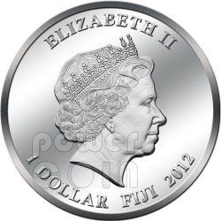 MUSIC IS MY LIFE REGGAE Bob Marley Münze 1$ Fiji 2012
