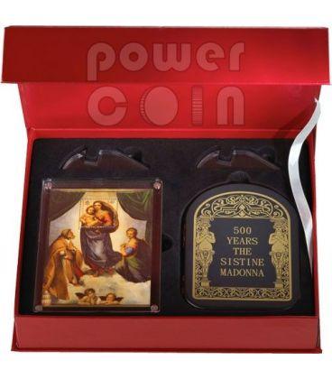 MADONNA SISTINA Raffaello Sanzio Giubileo Moneta Argento 1 Kg Kilo 100D Andorra 2012