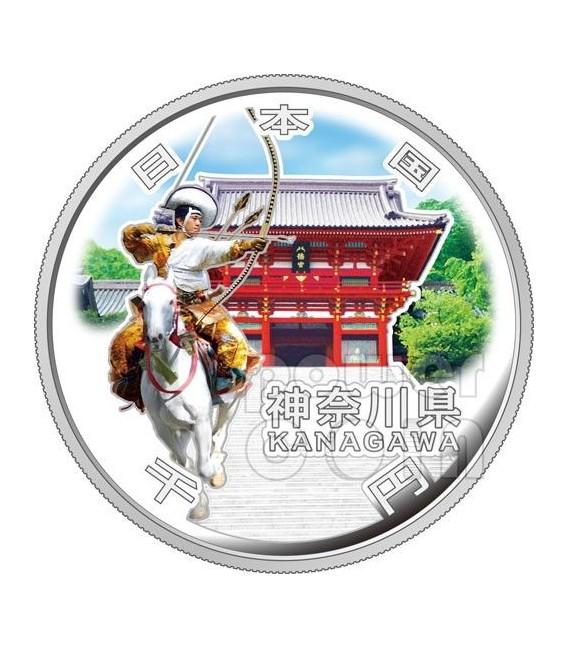 KANAGAWA 47 Prefectures (21) Silver Proof Coin 1000 Yen Japan Mint 2012