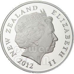 SAMOA 50 YEARS OF FRIENDSHIP Серебро Proof Монета 1$ Новая Зеландия  2012