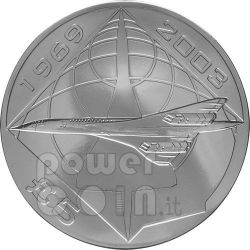 CONCORDE Airplane BU Moneda Pack £5 Alderney UK Royal Mint 2008