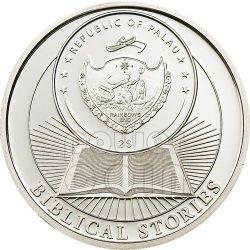 CAIN AND ABEL Biblical Stories Серебро Монета 2$ Палау 2011