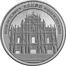SNAKE Lunar Year 1 Oz Silver Proof Coin 20 Patacas Macao Macau 2013