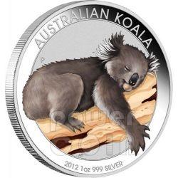 KOALA ANA Coin Show Special Moneta Argento 1Oz 1$ Australia 2012