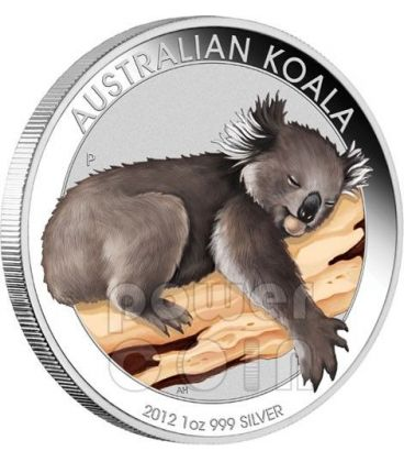 KOALA ANA Coin Show Special 1 Oz Silver Coin 1$ Australia 2012