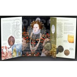 QUEEN ELIZABETH I BU Монета Pack £5 UK Royal Mint 2008