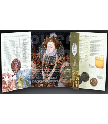 QUEEN ELIZABETH I BU Coin Pack £5 UK Royal Mint 2008